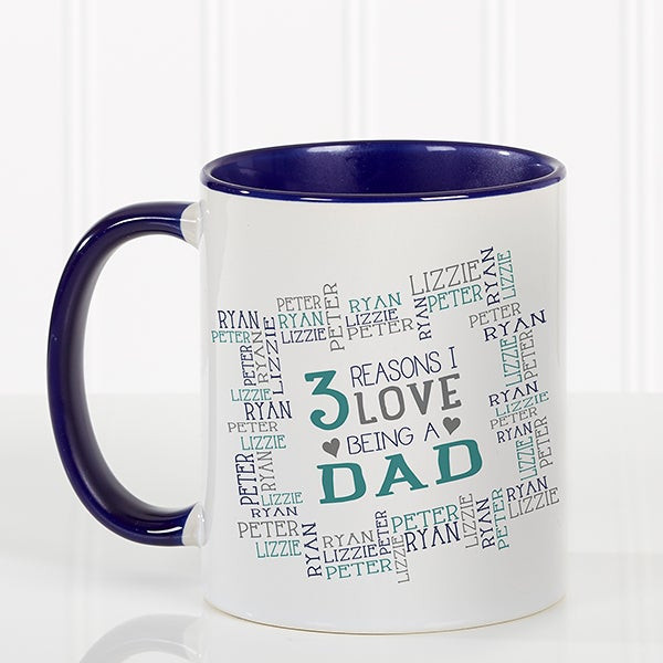 Personalized Coffee Mugs For Him - Reasons Why - 16921
