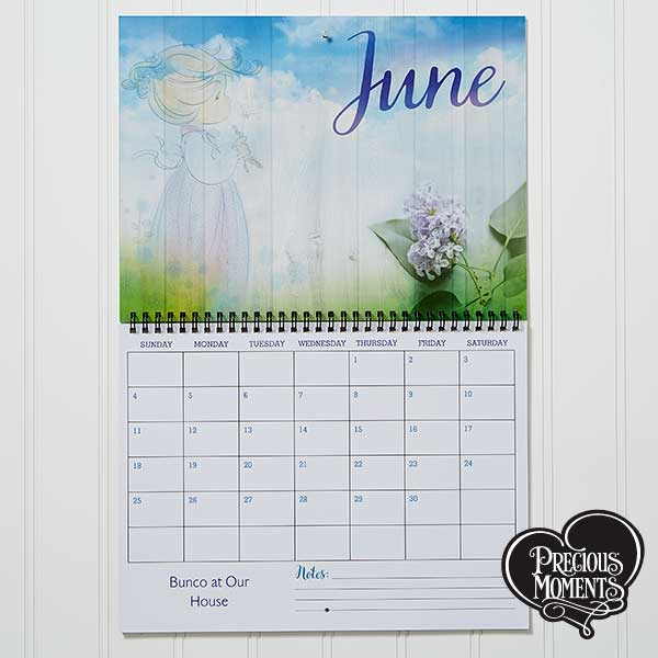 Precious Moments Personalized Wall Calendar - 16930