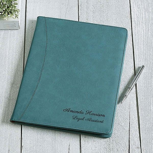 Personalized Full Pad Portfolio - Signature Series - 16939
