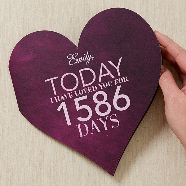 Personalized Heart Greeting Card - Endless Love - 16943