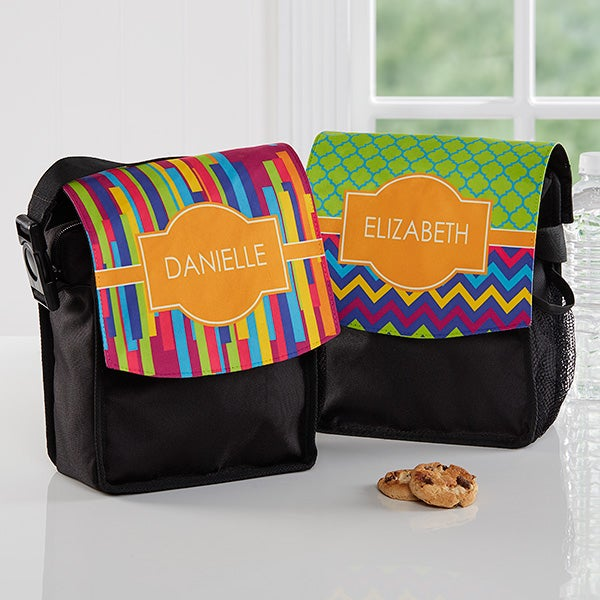 Personalized Lunch Tote - Bright & Cheerful - 16983