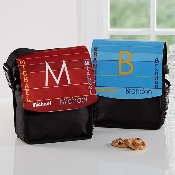 Personalized Boys Lunch Tote - That's My Name - 16989