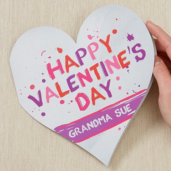 Personalized Valentine's Day Love Oversized Greeting Card - 16996
