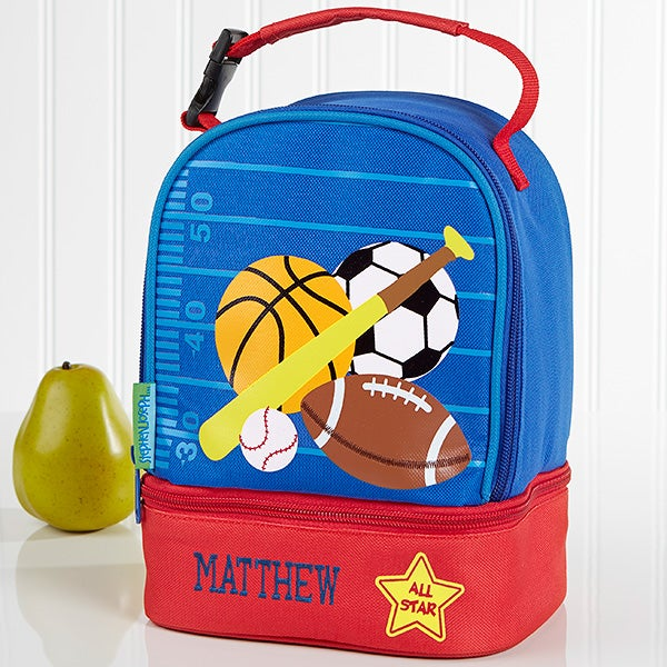 Embroidered Kids Lunch Bag By Stephen Joseph - All Star Sports - 17033 bcd8f8749badc