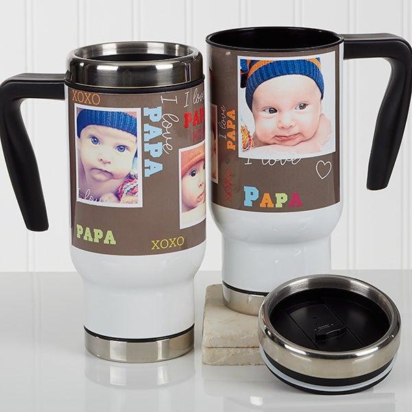 Personalized Photo Commuter Travel Mug - Loving You - 17046