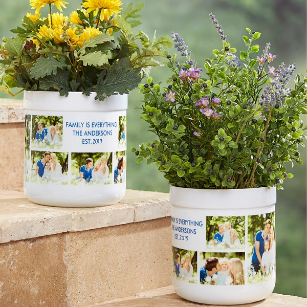 Personalized Outdoor Flower Pot Picture Perfect 17065