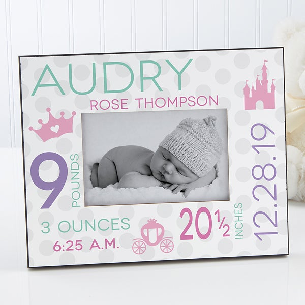 Personalized Baby Picture Frame - Sweet Baby Girl - 17088
