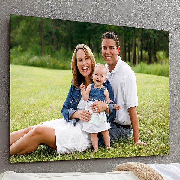 Personalize Chromoluxe Photo Metal Panels - Photo Memories - 17089