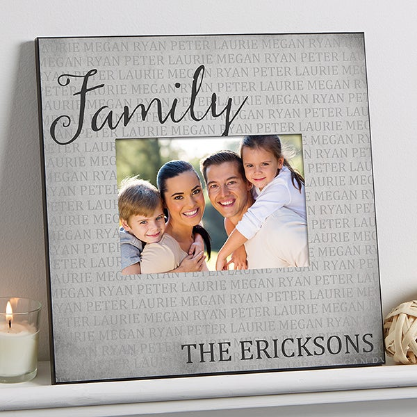 Personalized Family Wall Frame - Together Forever - 17098