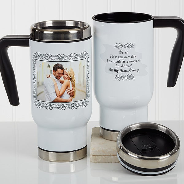 Personalized Commuter Travel Mug - My Words To You - 17129