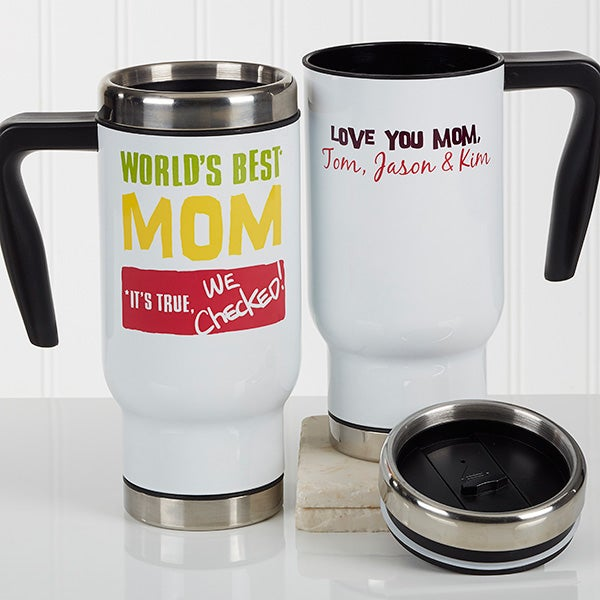 Personalized Travel Mugs For Mom - 17166