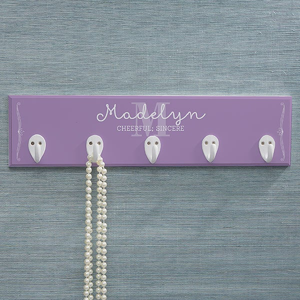 Personalized Necklace Holder - Name Meaning - 17231