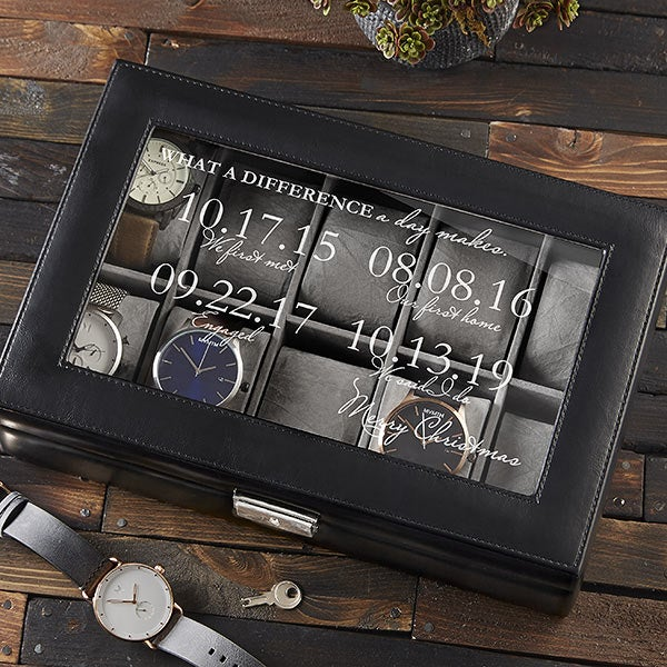 Special Dates 10 Slot Watch Box