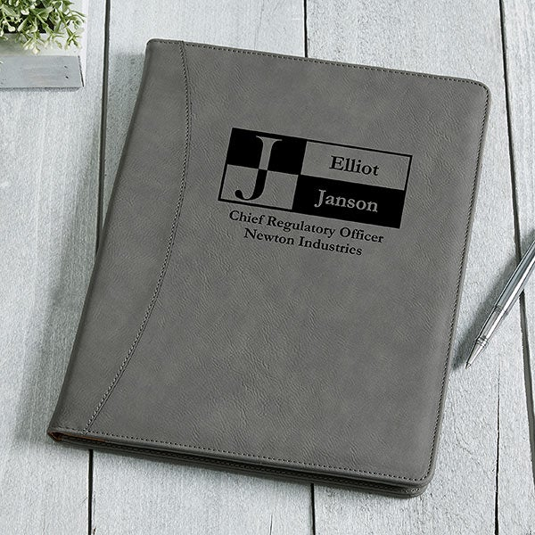 Personalized Portfolios - Sophisticated Style - 17249