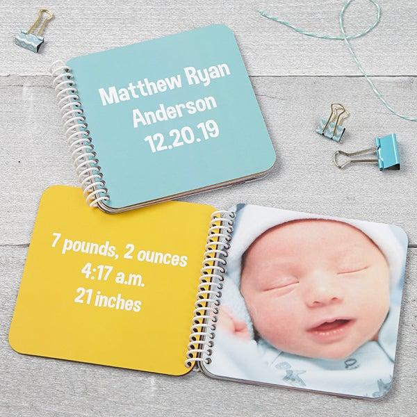Baby Keepsake Soft Cover Mini Photo Book - 17276