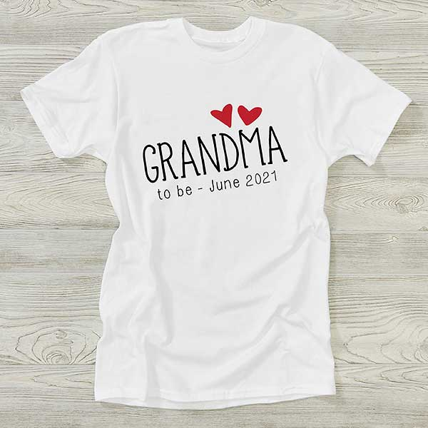 Pregnancy Announcement Grandparents Gift for Grandma Grandma Shirt Grandma Established Shirt Grandma Shirt Christmas Gift Grandma