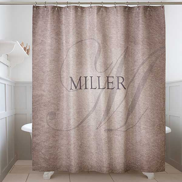 Personalized Shower Curtain - Heart Of Our Home - 17580