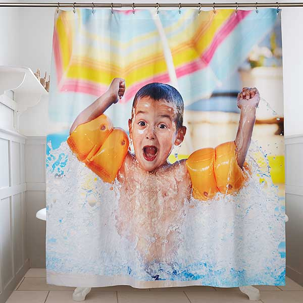 Custom Photo Shower Curtain - 17582