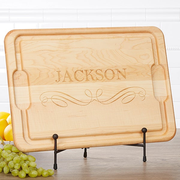 Personalized Classic Kitchen Maple Cutting Boards - 17594