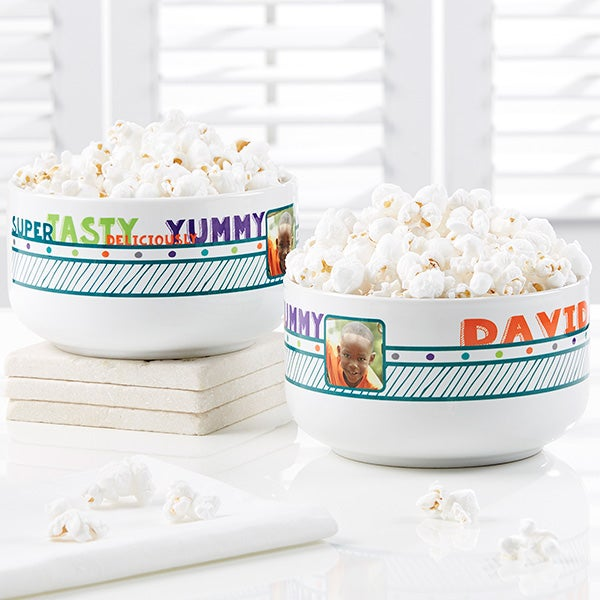 Personalized Photo Snack Bowl - Super Tasty - 17601