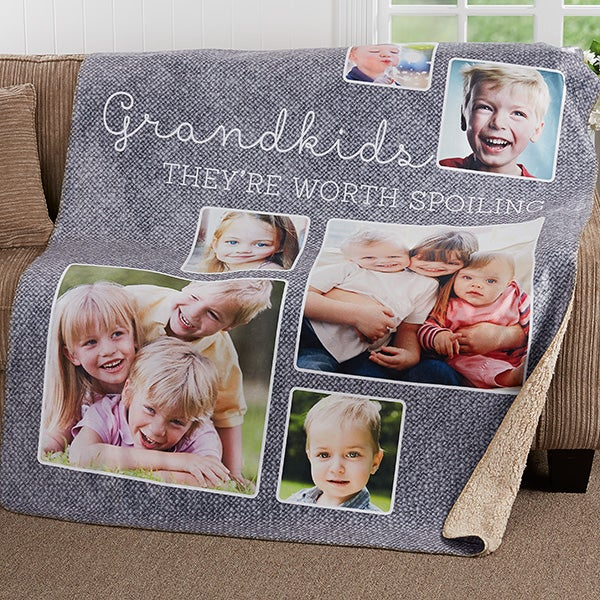 Personalized Photo Blankets - They're Worth Spoiling - 17637