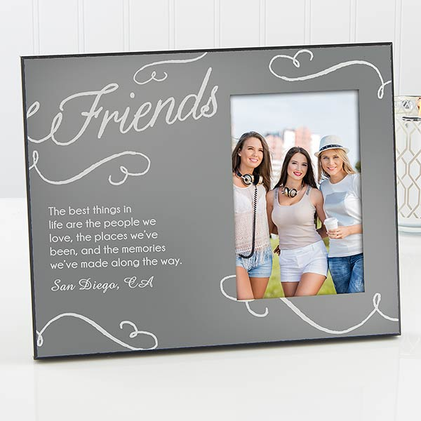 Personalized Sisters - Friends Picture Frame - 17660