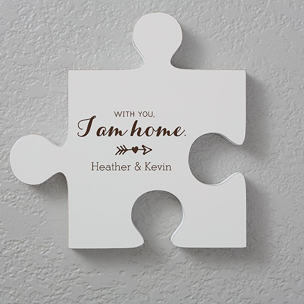 Personalized Romantic Wall Puzzle Pieces - Romantic Quotes - Quote 3