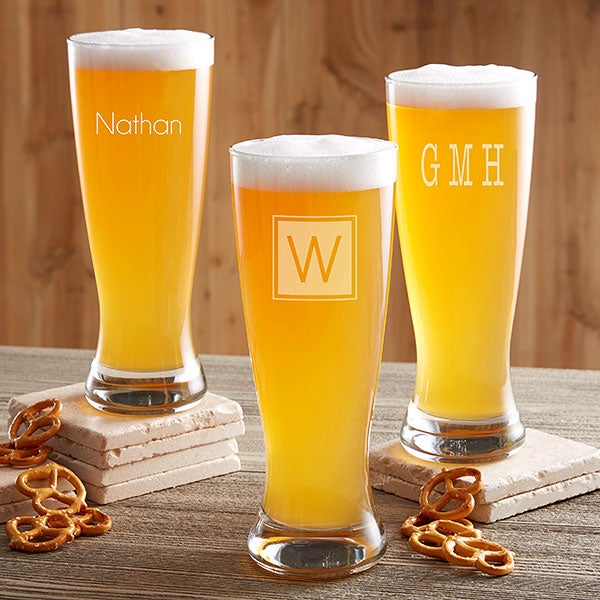 Classic Celebrations Personalized Beer Pilsner Collection