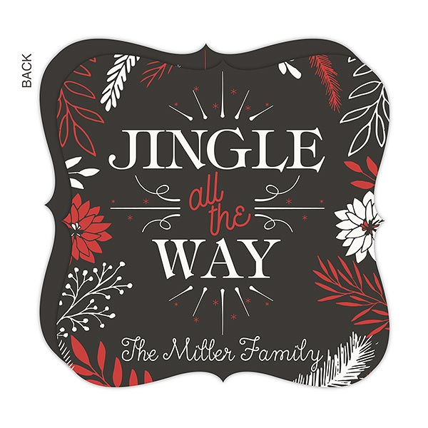 Personalized Jingle All The Way Christmas Cards - 17840