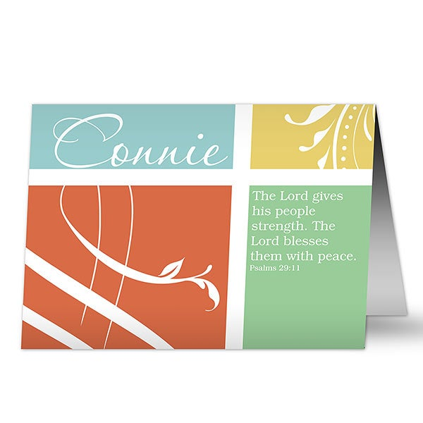 Personalized Greeting Card - Inspirational Faith - 17932