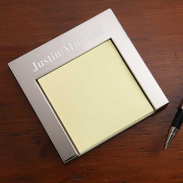 Personalized Post-It Holder - Signature Series - 18020