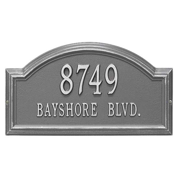 Personalized House Address Plaque – Arch Design - 18037D