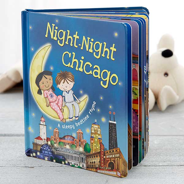 Night Night Personalized Storybook - 18046D