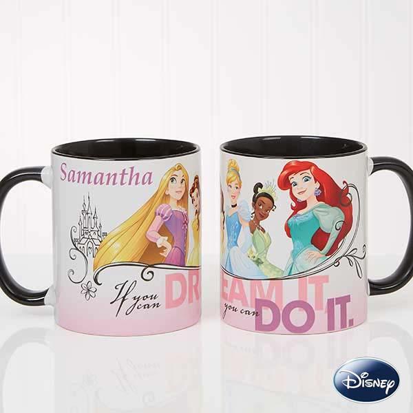 Disney Princess Personalized Coffee Mugs - 18099