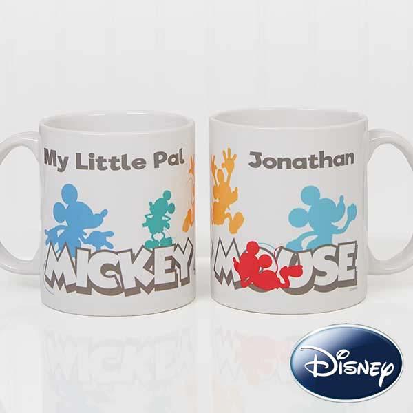 Disney Mickey Mouse Personalized Coffee Mugs - 18100