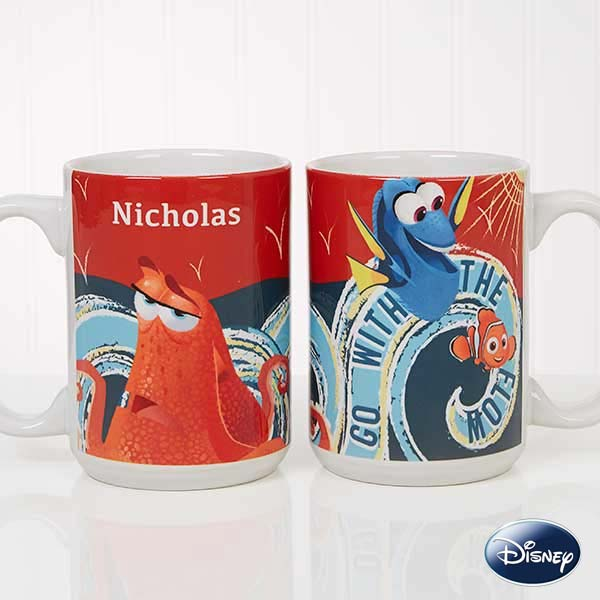 Finding Dory Go With The Flow Custom Coffee Mugs - 18102