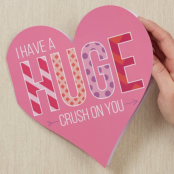 Personalized Greeting Card - Huge Crush On You - 18142