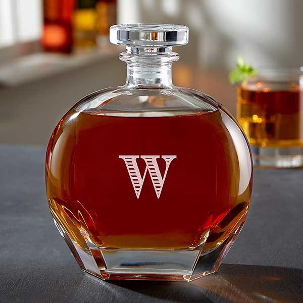 da04b09e103a Personalized Whiskey Decanter - Engraved Name
