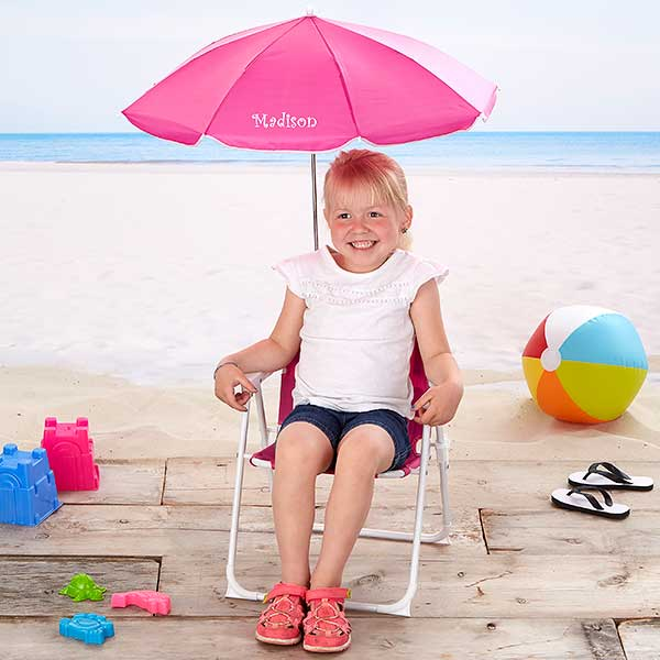 Personalized Kids Beach Chair