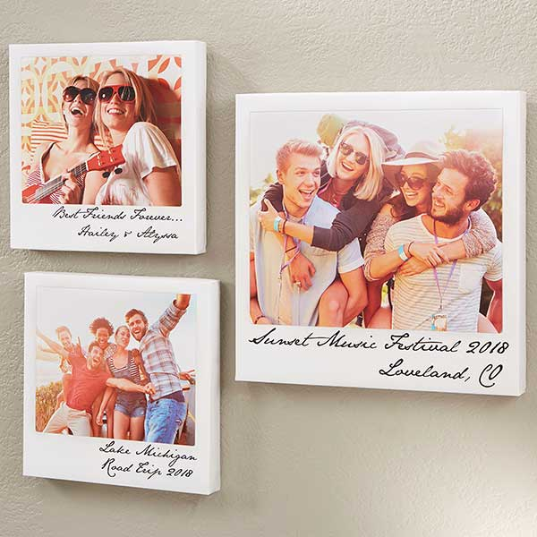 Retro Polaroid Style Canvas Prints - 18297