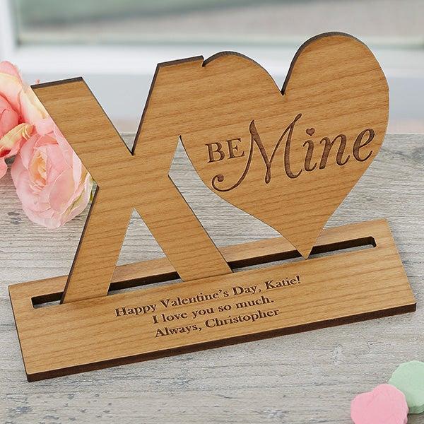 Romantic Wooden Keepsake - XO Heart - 18315