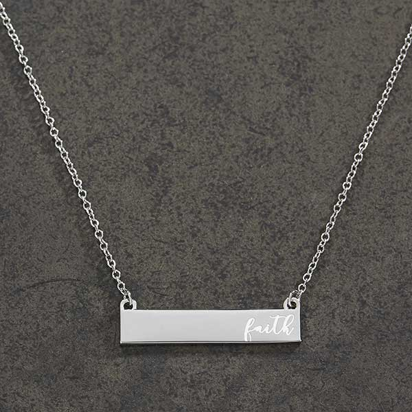 9ee6a2afc Custom Nameplate Necklaces For Her - 18432