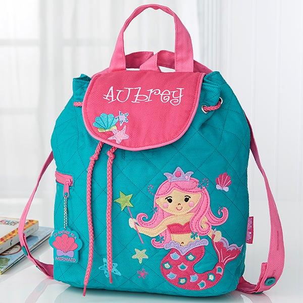 5661ae693ba Mermaid Embroidered Kid's Backpack by Stephen Joseph