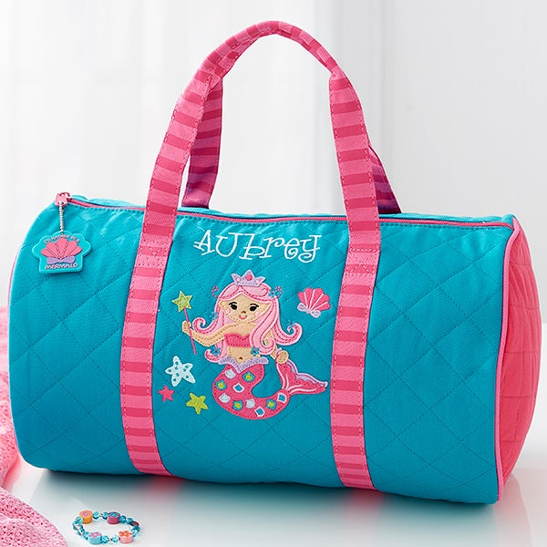 f18c2ff97c Personalized Kids Duffel Bag - Mermaid - 18443