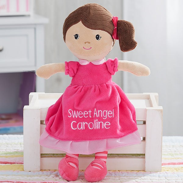 Personalized Dolls Custom Embroidered Dolls