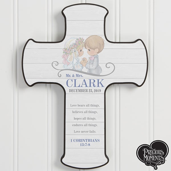 Personalized Wedding Cross - Precious Moments - 18468