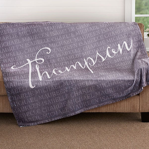 Personalized Fleece Blanket - Together Forever - 18490