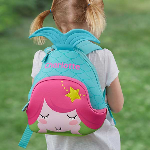 Personalized Toddler Backpack - Mermaid - 18500 03c150a835940
