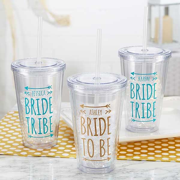Bride Tribe - Personalized Wedding Tumbler - 18556
