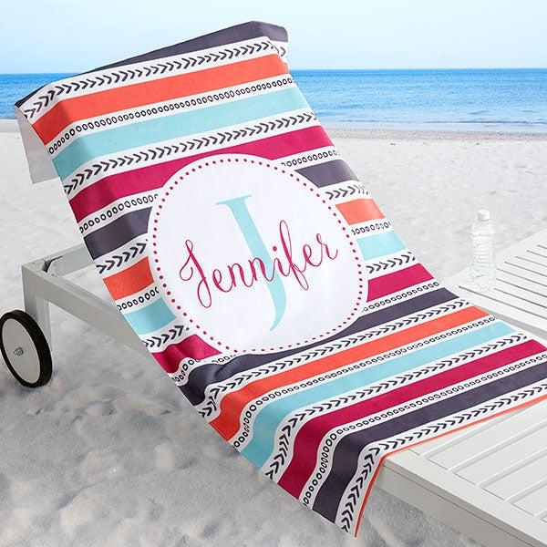 Pattern Personalized 30x60 Beach Towel